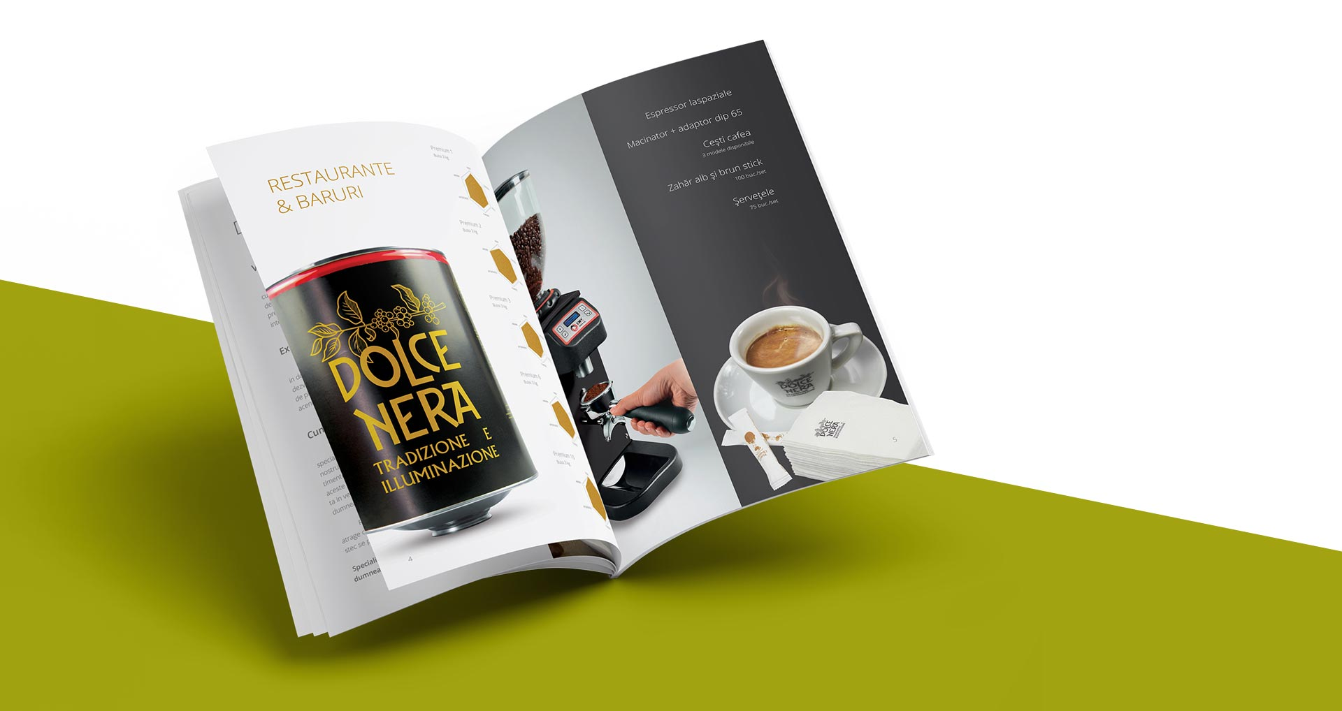 Gourmet Coffee - Brochure Design | VISMARK®